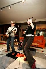 paula vs. rachel in guitar hero, to the tune of joan…
