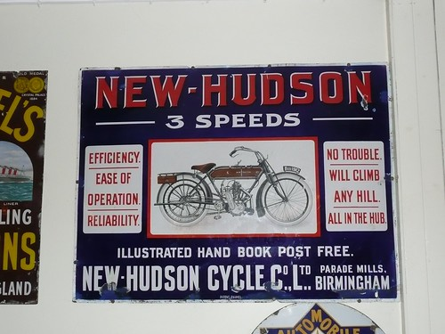 "1912 ""Hudson"" Motorcycle Advert"