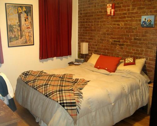 Cobble Hill Apartment Bedroom