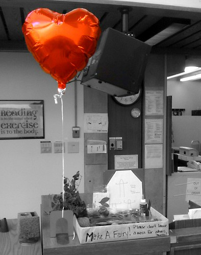 red heart library balloon fairies suny colorsplash app academic iphone libslibs librariesandlibrarians sunycobleskill stateuniversityofnewyork vanwagenenlibrary