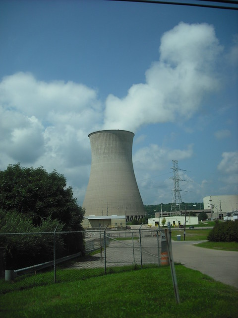 Nuclear Cooling Tower At The William H Zimmer Power