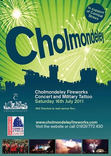Cholmondeley Castle Fireworks Concert and Military Tattoo 2011