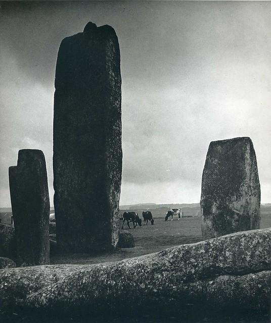 Stonehenge, by Bill Brandt 1944-45