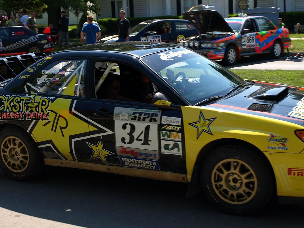 Start Line STPR Rally Wellsboro PA