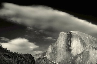 Half Dome color IR gray scale