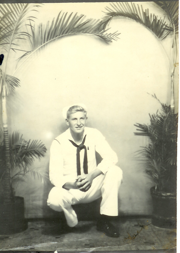 WWII Midshipman (my grandpa) on leave in Hawaii
