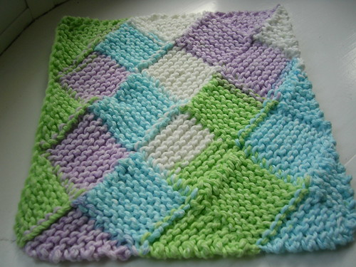 Garterlac Dishcloth