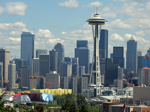 Seattle Viewpoints Kerry And Marshall Park Travels