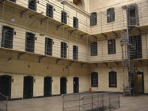 Interior of Kilmainham Jail