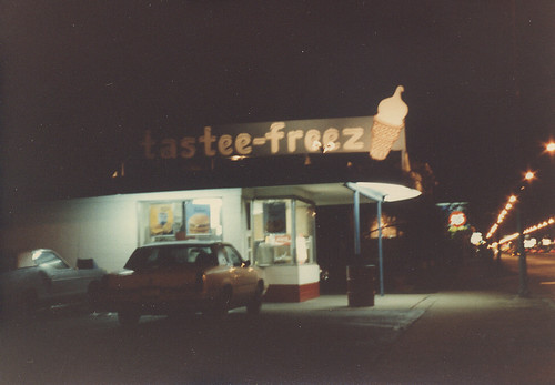The old Tastee Freeze that used to be at South Pulaski Road and West 58th Street in Chicago Illinois. May 1984. by Eddie from Chicago