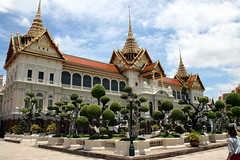 The Grand Palace, one of the many attractions you can see with the Bangkok City Pass