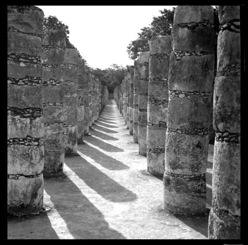 Columnas de Chichen Itza