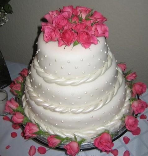 Simple Wedding Cake Flickr Photo Sharing