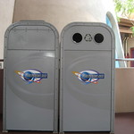 A Pair of Tomorrowland Bins