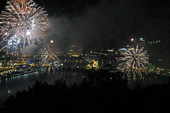 Happy 250th, Pittsburgh!  Video fireworks