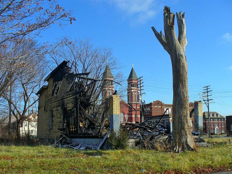 DETROIT | Poletown - America's most blighted neighborhood ...