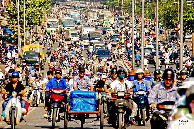 Saigon. Circulation ordinaire