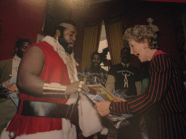 mr. t vs. nancy reagan