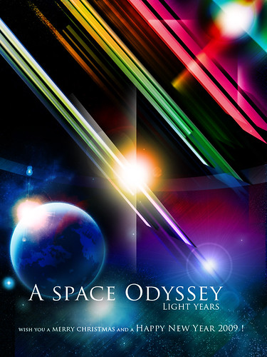 A Space Odyssey - Light years