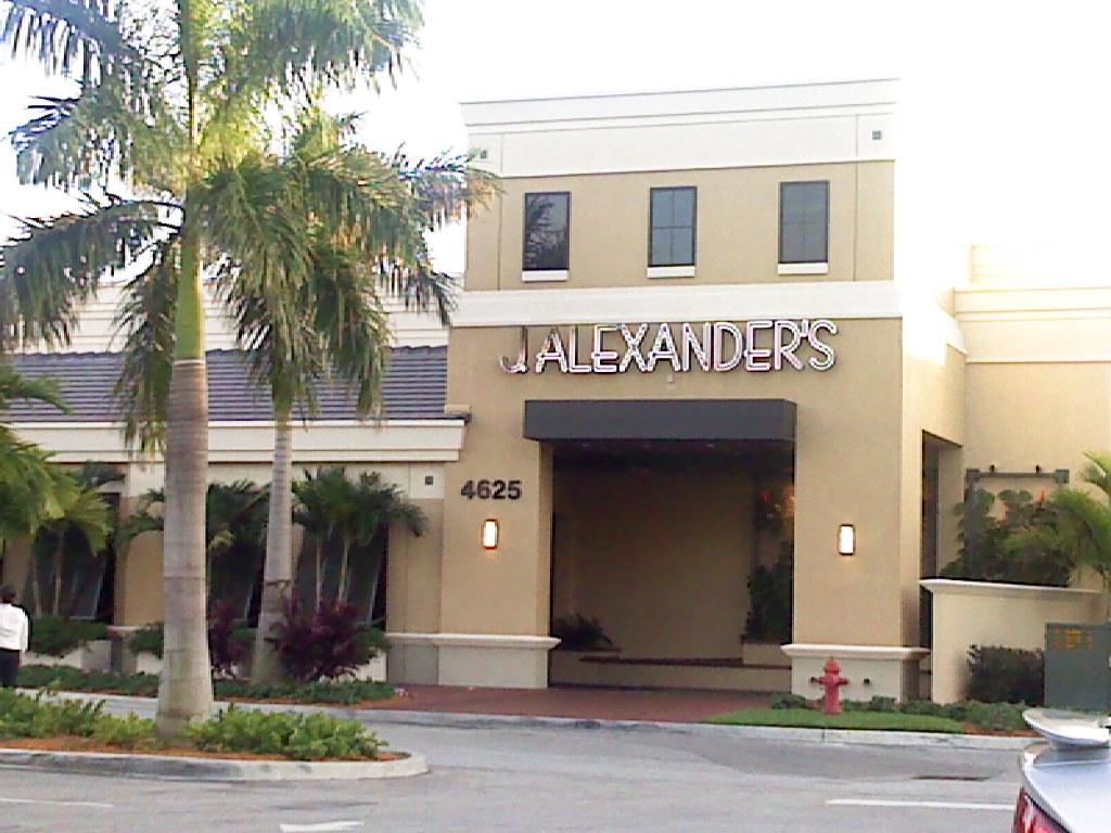 J. Alexanders Palm Beach Gardens, ...