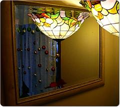Reflection de lampe.