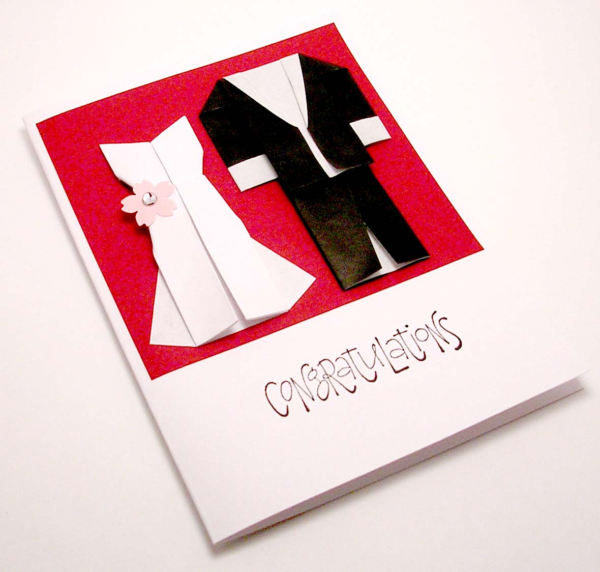Origami Wedding Card - a photo on Flickriver
