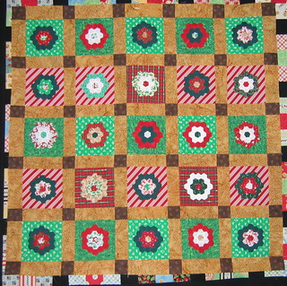Christmas quilt-work in progress