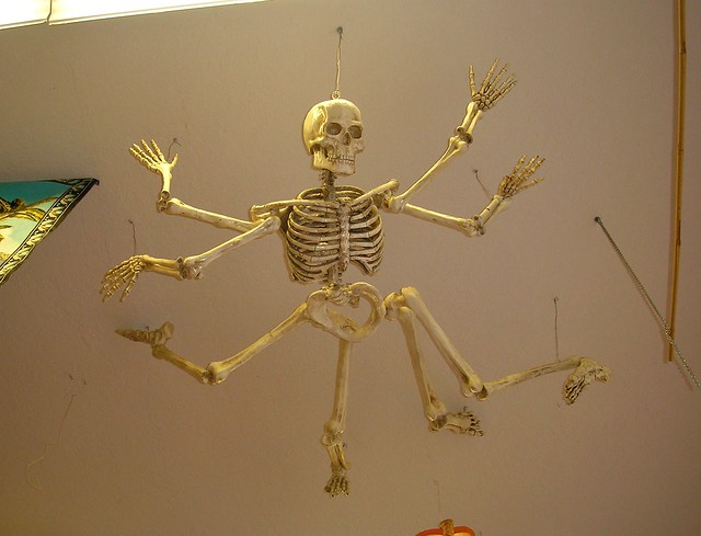 how to make a mutant skeleton