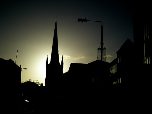 Northgate Wakefield & Cathedral Silhouette
