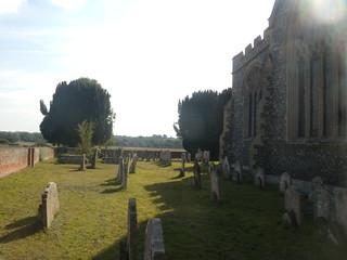 Churchyard, St Mary's, St Mary Stratford