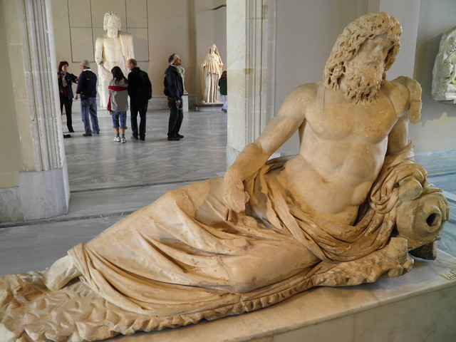 Statue of Oceanus, Sculpture of Roman Period, Istanbul Archaeology Museum