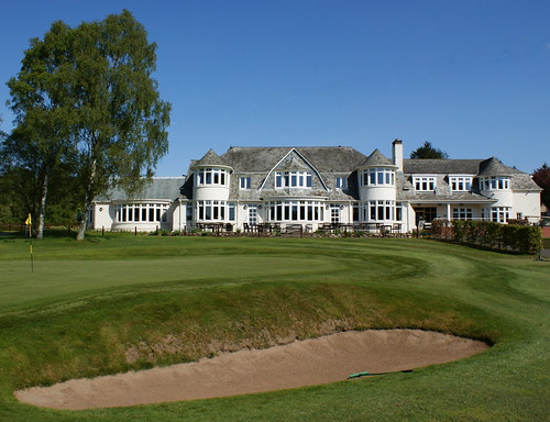 Tour Scotland Photograph Rosemount Golf Course Blairgowrie 4th May