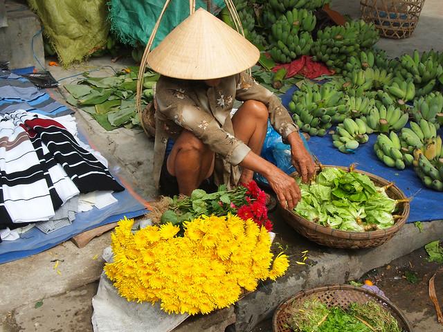 At a market in Hoi An, Vietnam