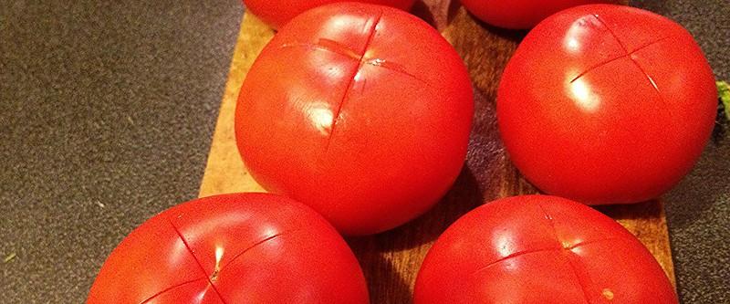 помидоры до очистки
