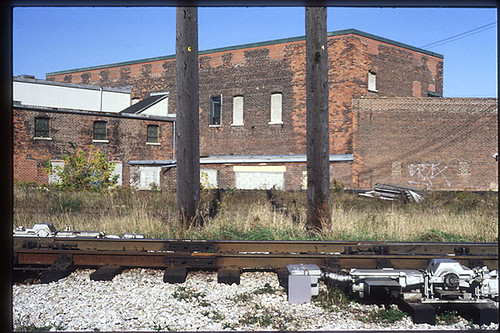 Rail Yard, Toronto, October 1990