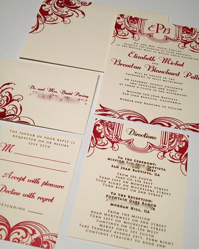 Wedding Invitations by UglyKitty