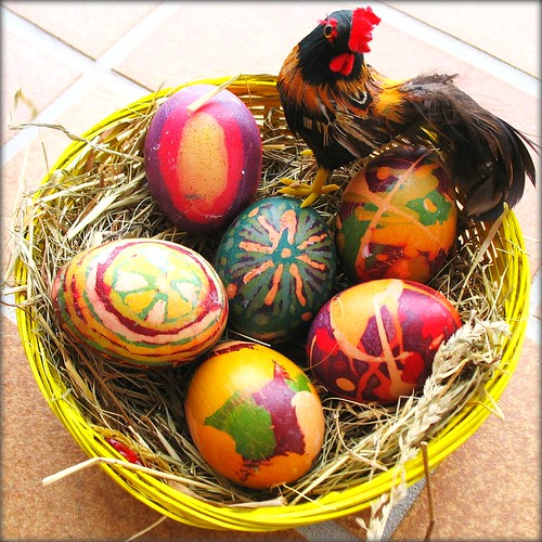 WISH  YOU  A  HAPPY  EASTER   WEEKEND -  Batik Art