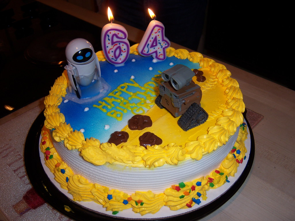 Grandmas WALL E Birthday Cake