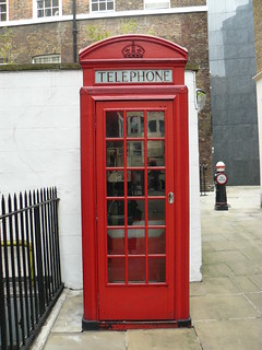 Red Telephone Box - City of London (author's own)