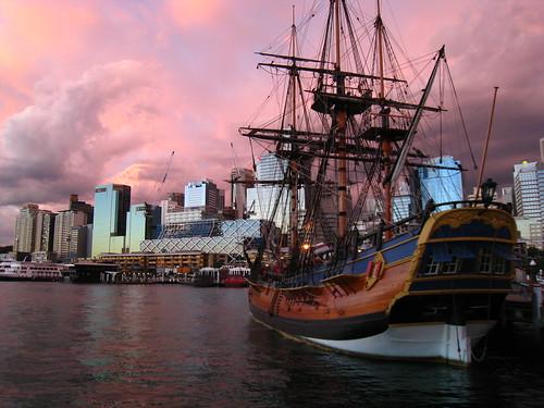 Endeavour & Sydney