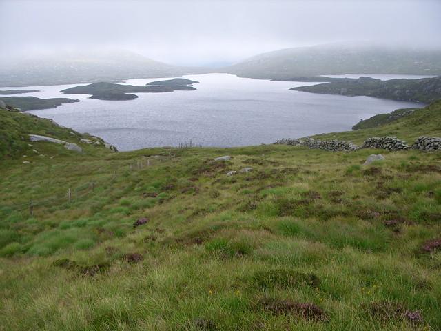 A misty loch Enoch
