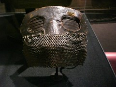 art, iron, mask,