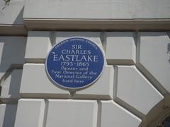 Photo of Charles Eastlake blue plaque