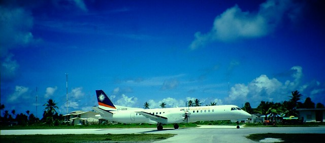 Photo:Air Marshall Islands @ Funafuti Airport Tuvalu By xmyrxn
