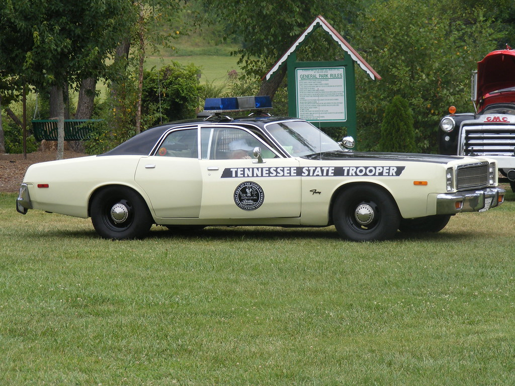 Old Tennessee State Trooper Car! - a photo on Flickriver