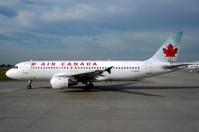 Air Canada A320-211 C-FKCO