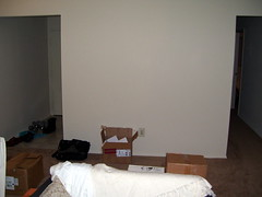 Empty Wall in Living Room