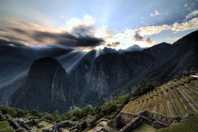 Machu Picchu At Daybreak