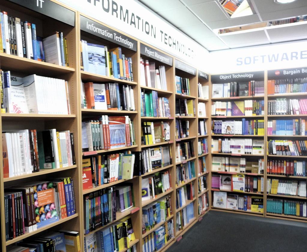 Computing, Foyles Bookshop, London