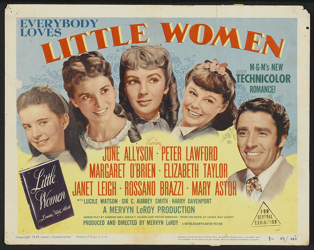 Little Women (1949) Title Lobby Card